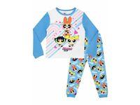 Girls Power Puff Pyjamas 7-8Years BNWT
