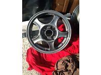"Alloy wheels 14"" like new just got refurbed"