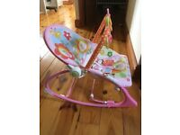Fisher Price infant- toddler vibrating chair