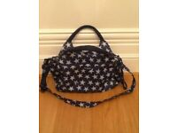 Momy Moo blue Changing Bag - used for 1 child - £10