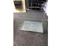 Large dog cage for sale 20pds north shields area