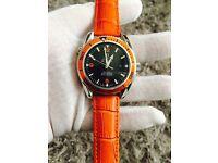 Omega sea master orange strap