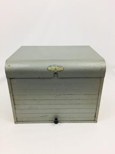 Vtg Brumberger Brooklyn Metal Industrial File Cabinet Dark Room Photo Paper Safe