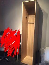 Ikea pax tall wardrobe