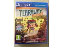 TEARAWAY Unfolded for PS4 - Brand new and unopened