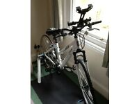 Nearly new Tacx Flow T2240 Smart Turbo Trainer, ladies hybrid Bike with accessories for sale
