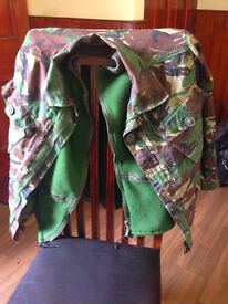 Army Combat Jacket - small - Ripstop, Nothern Europe British DPM pattern NATO 160 height/88 Chest