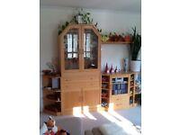 Modular wall furniture - Hammel - Beech wood veneer finish