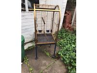 parrot cage for sale ono £30 (used)