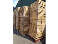 Vintage wooden Apple Crates / Boxes