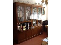 Display Cabinet (Yew)