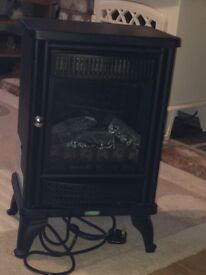 traditional electric stove fire