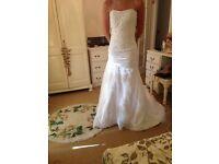 Brand New Wedding Dress- Proceeds to Macmillan