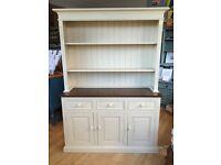 Pine Dresser, display cabinet painted in Annie Sloan Chalk Paint