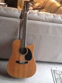 Vintage Electro Acoustic Guitar - Electrics not working.