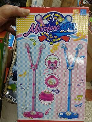Barra 2 & Microfono Sonidos Karaoke Solo Rosa Kit Juego por Calidad Juguete a75 segunda mano  Embacar hacia Mexico