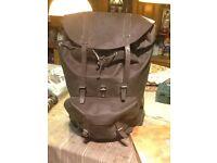 A army bag complete named schmidlin sattlerei entlebuch 82 in very good con- see photos .