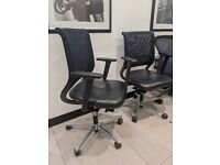 FREE SAME-DAY DELIVERY - Sedus Netwin NW-100 Ergonomic Office Chair In Black