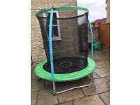 6ft Trampoline with saftey net