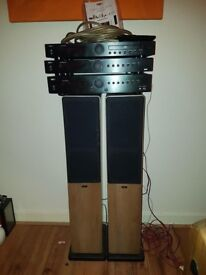 Tibo TI 430 Hi-Fi System with Tuner, Amplifier, CD Player and Speaker set-up