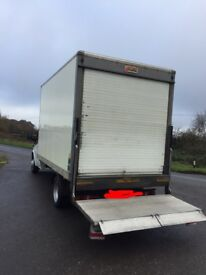 BARGAIN luton body with tail lift