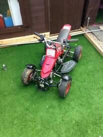 Kids 50 cc mini atv quad