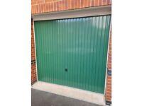 Hormann Up and over garage door series 2000 in green