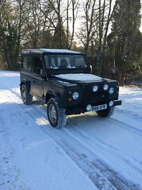 1984 landrover 90 lots of new parts rebuilt on galvi chassis