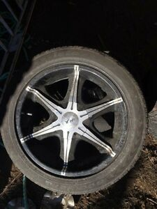 "20"" hp rims wheels d40 navara 4x4 chrome alloy Tumbulgum Tweed Heads Area Preview"
