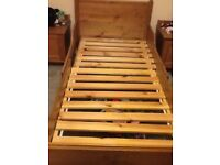 IKEA lekvisk extendable bed