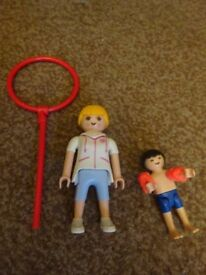 Playmobil As New Complete Swimming Set Only £3