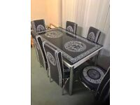ORDER NOW !!!BRAND!! NEW TURKISH TABLE😎 TURKISH TABLE!! WITH 4 AND 6 CHAIRS😍GET IT NOW