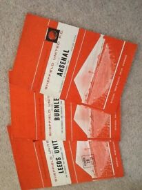 Sheffield United Vintage Programmes x 4 from the 1960's