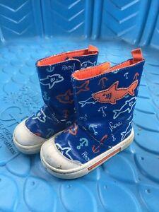 Baby rain boots size 4