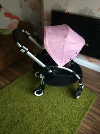 Bugaboo Bee pram pushchair with extras