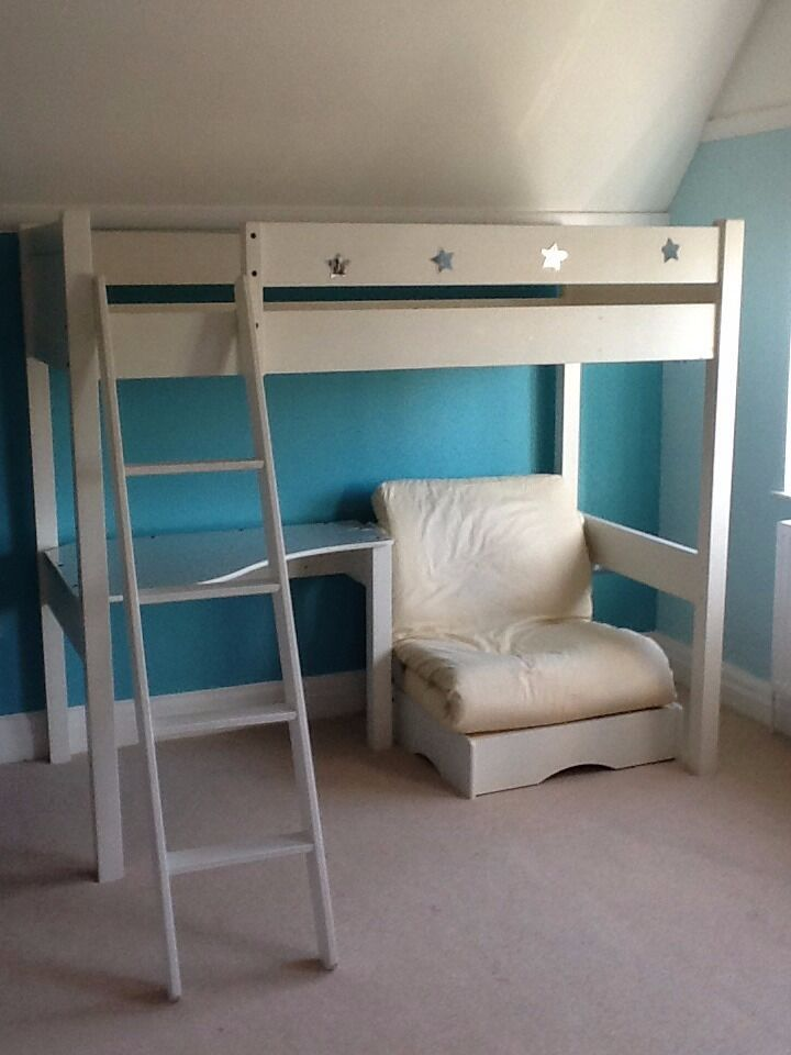 Aspace warwick bunk bed with futon in watford for Gumtree bunk beds