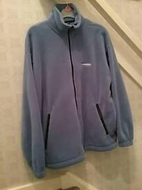 Ladies fleece jacket size xs with matching hat
