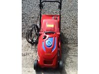 Wolf Garten blue power 37e lawn mower.