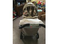 Graco Quattro Tour Deluxe Travel System from birth
