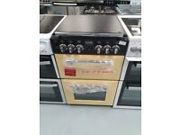 STOVES Richmond 550DFW Dual Fuel Cooker - Champagne
