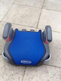 Child's graco car booster seat