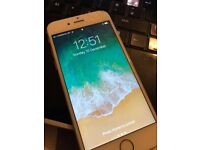 iphone 6s in white 64gb unlocked to all newtworks with battery charger case red and charger