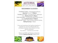 ****DOTERRA ESSENTIAL OIL INFORMATION CLASSES****