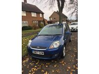 Ford Fiesta (Zetec Climate) 1.4L Blue 2007 **ONLY 49,000 MILES** (FSH)