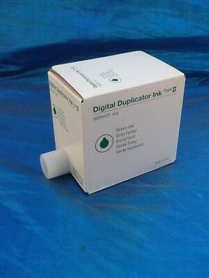 Digital Duplicator Green Ink By Ricoh Co Ltd- Green Ink Type Ii Church Sale