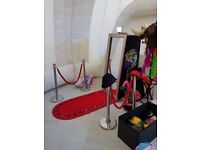 Magic Mirror Photobooth for sale with props. £4995.