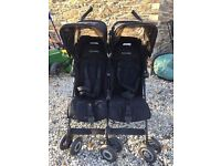 MacLaren twin techno pushchair