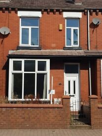 3 Bedroom 2 reception mid terraced house Thicketford Road Tonge moor