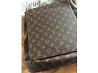 Ladies Louis Vuitton Monogram Messenger Bag