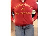 Canterbury of New Zealand hoodie Kiwi branded Large